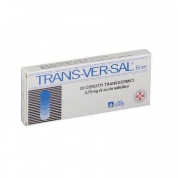 TRANSVERSAL 20 CEROTTI TRANSDERMICI 3,75MG/ 6MM TRATTAMENTO DURONI E CALLOSITÀ