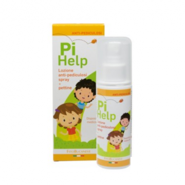 PIHELP LOZIONE ANTI-PEDICULOSI SPRAY 100ML + PETTINE