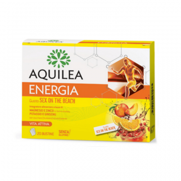AQUILEA ENERGIA SEX ON THE BEACH 20 BUSTINE - INTEGRATORE ENERGIZZANTE