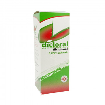 DICLORAL COLLUTORIO 1 FLACONE 200 ML