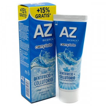 AZ COMPLETE FRESH&WHITENING DENTRIFICIO+COLLUTORIO 75ML