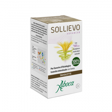 ABOCA SOLLIEVO ADVANCED INTEGRATORE TRANSITO INTESTINALE 45 TAVOLETTE