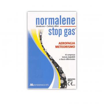 NORMALENE STOP GAS INTEGRATORE CONTRO GAS ADDOMINALI 40 COMPRESSE