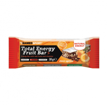 NAMED TOTAL ENERGY FRUIT BAR CHOCO APRICOT 35 GRAMMI