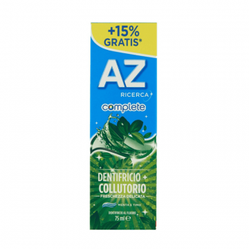 AZ COMPLETE ORAL B DENTIFRICIO + COLLUTTORIO 75 ML