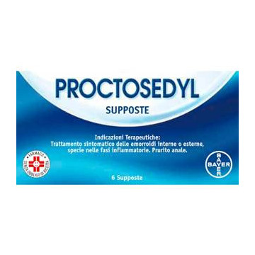 PROCTOSEDYL 6SUPPOSTE