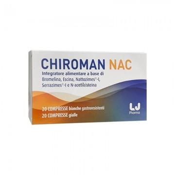 CHIROMAN NAC INTEGRATORE FERTILITÀ MASCHILE 20 COMPRESSE + 20 CAPSULE