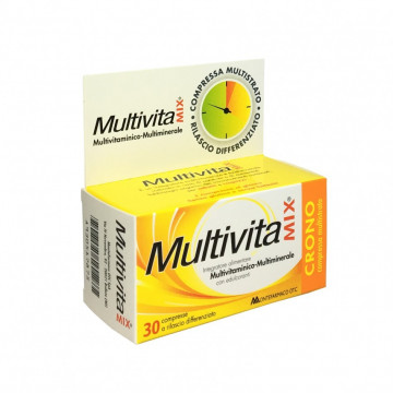 MULTIVITA MIX CRONO INTEGRATORE MULTIVITAMINICO E DIFESE 30 COMPRESSE