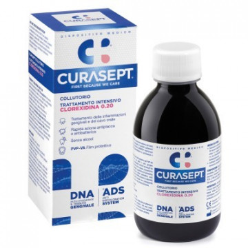 CURASEPT COLLUTORIO CLOREXIDINA 0.20% ADS+DNA 200 ML