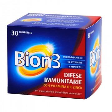 BION 3 INTEGRATORE DIFESE IMMUNITARIE CON VITAMINA E E ZINCO 30 COMPRESSE