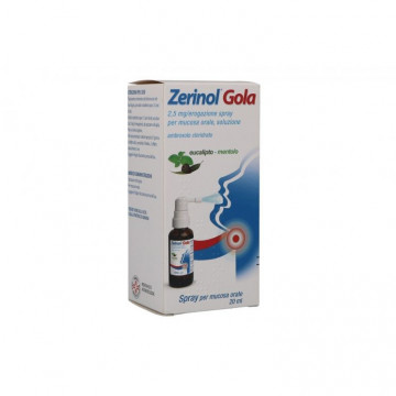 ZERINOL GOLA SPRAY MUCOSA ORALE 20ML