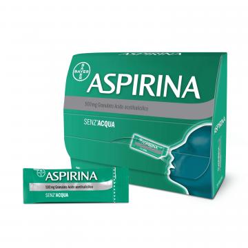 ASPIRINA GRANULATO 500 MG ACIDO ACETILSALICILICO  20 BUSTINE