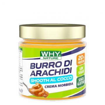 WHY NATURE BURRO ARACHIDI AL COCCO 350 G CREMA PROTEICA