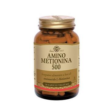 AMINO METIONINA 500 INTEGRATORE AMINOACIDI 30 CAPSULE VEGETALI