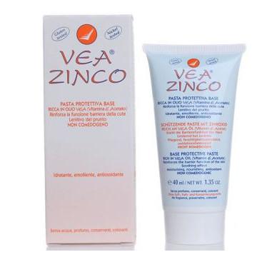 VEA ZINCO PASTA PROTETTIVA BASE CON OSSIDO DI ZINCO E VITAMINA E 40 ML