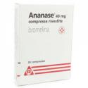 ANANASE 20CPR RIV 40MG