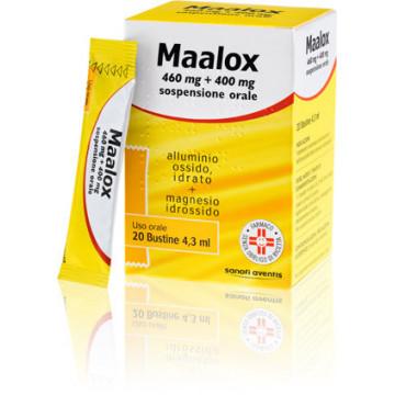 MAALOX OS 20BUST 460MG+400MG