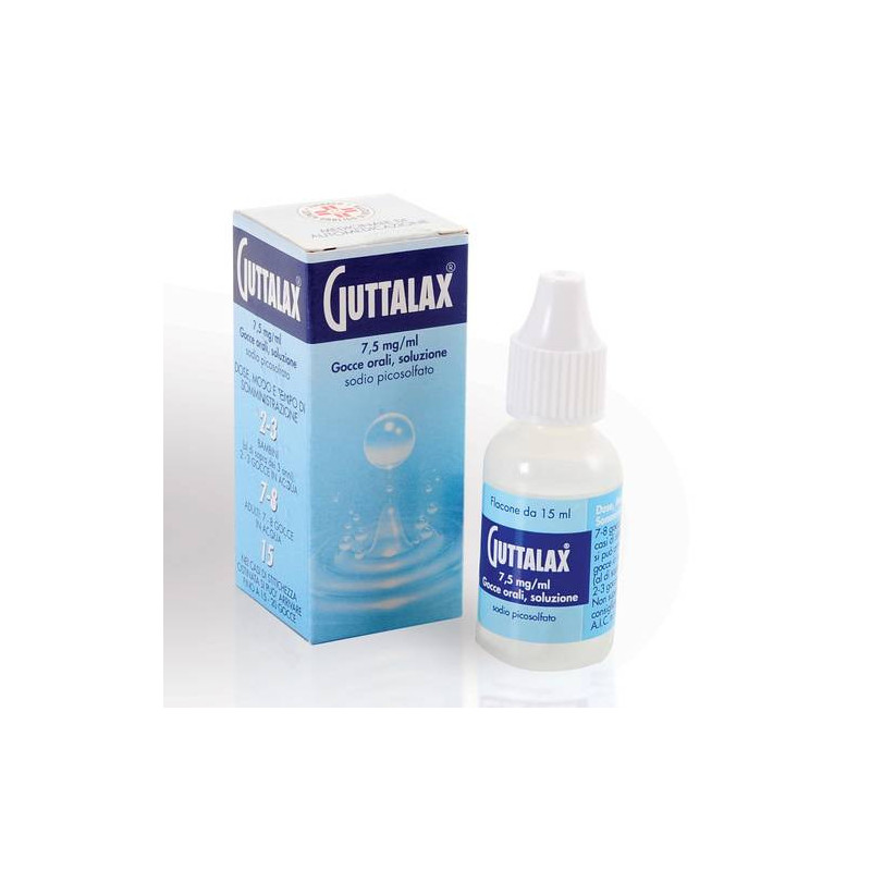 GUTTALAX OS GTT 15ML7,5MG/ML