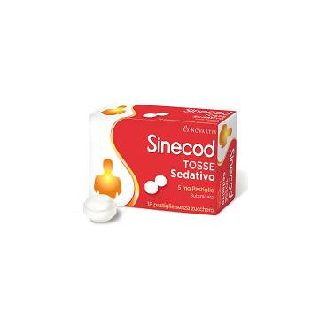 SINECOD TOSSE SED 18PAST 5MG