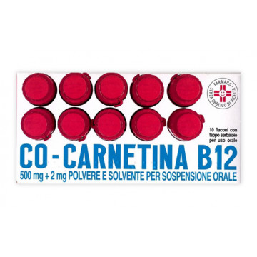 COCARNETINA B12 OS 10FL 10ML
