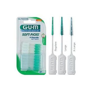 GUM SOFTPICKS SCOVGOMREG40PZ