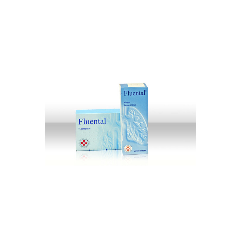 FLUENTAL AD 15CPR300MG+150MG