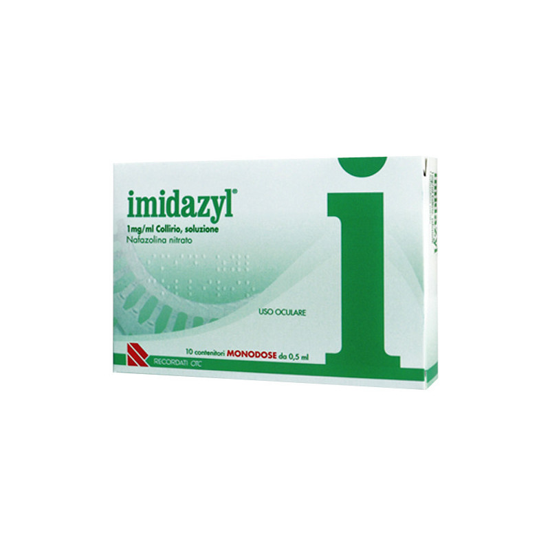 IMIDAZYL COLL 10FL 1D 1MG/ML