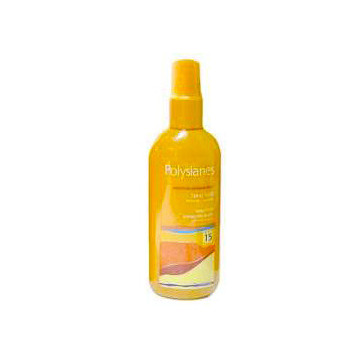 KLORANE POLYSIANES LATTE CORPO SPRAY SPF 15 PROTEZIONE MEDIA 125 ML