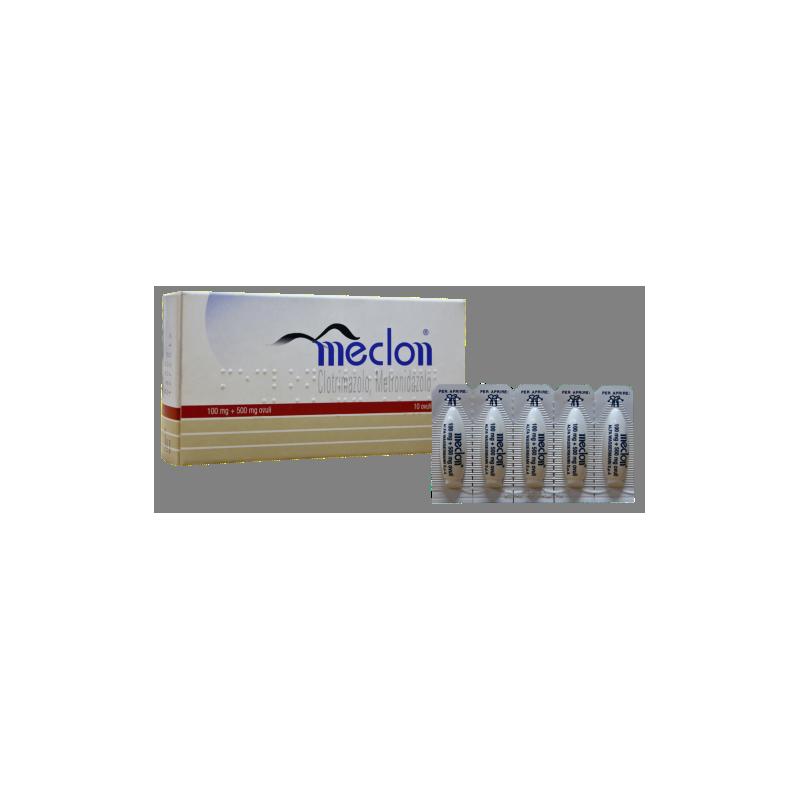 MECLON 10 OVULI VAG100+500MG