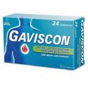GAVISCON 24CPRMENTA500+267MG