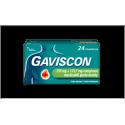 GAVISCON 24CPRMENT250+133,5M