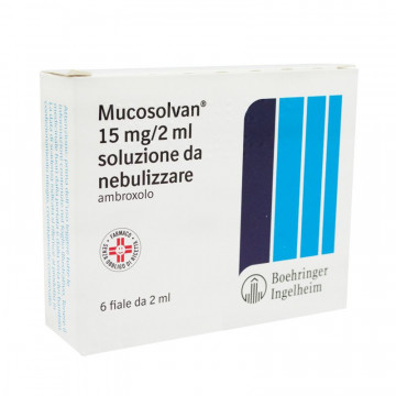 MUCOSOLVAN NEBUL 6F 15MG 2ML