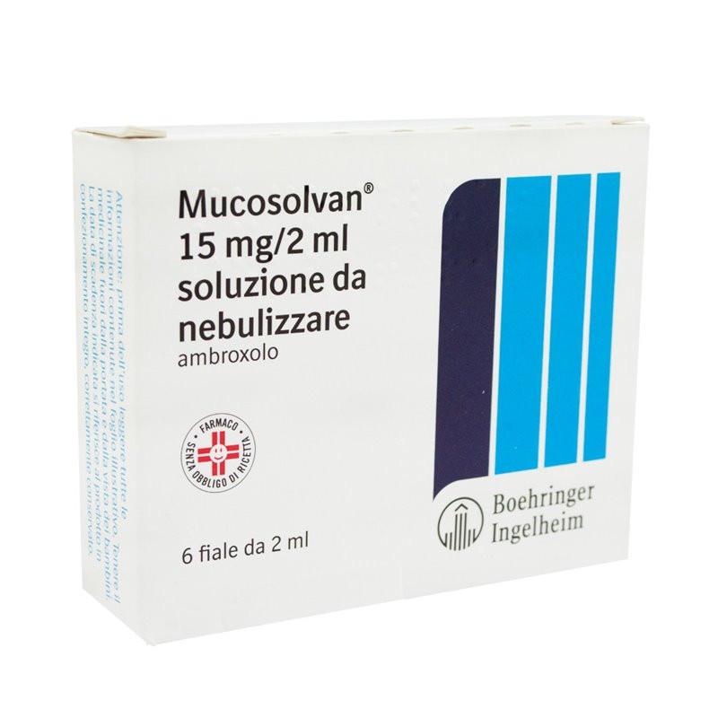 MUCOSOLVAN NEBUL 6F 15MG 2ML