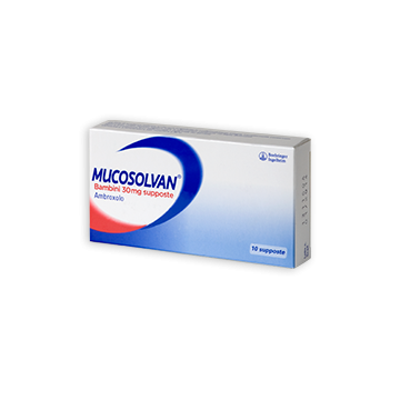 MUCOSOLVAN BB 10SUPP 30MG