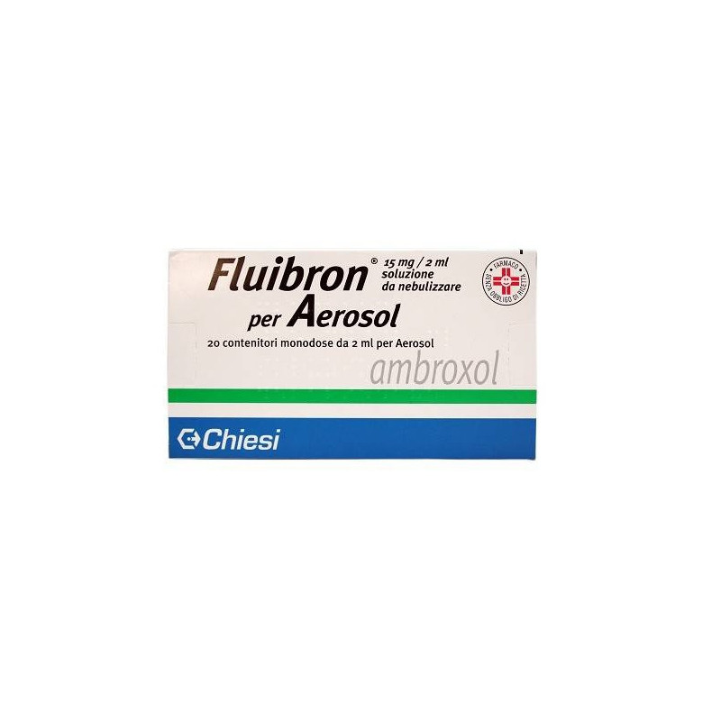 FLUIBRON AER 20FL 15MG 2ML