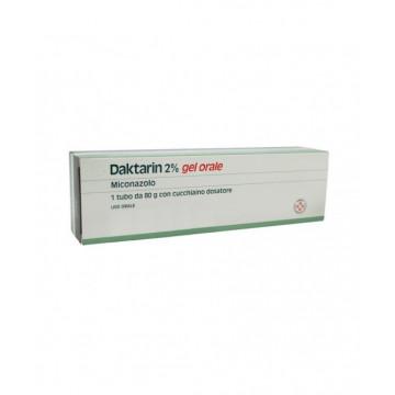 DAKTARIN GEL ORALE 80G20MG/G