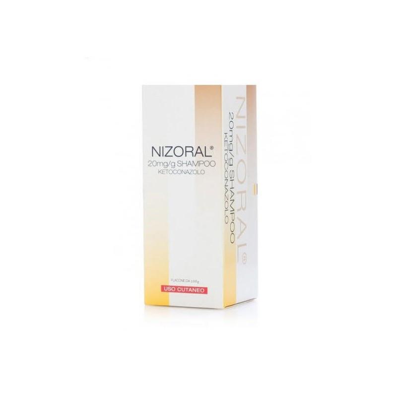 NIZORAL SHAMPOO FL100G20MG/G
