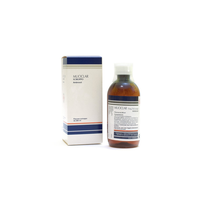 MUCICLAR SCIR 200ML 15MG/5ML