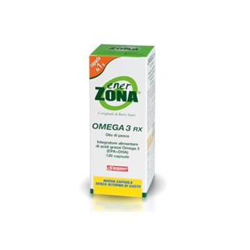ENERZONA OMEGA 3 RX 120CPS