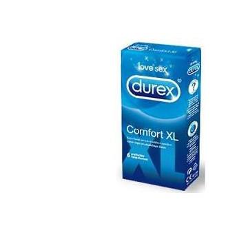 DUREX PRESERVATIVI COMFORT XL 6 PEZZI