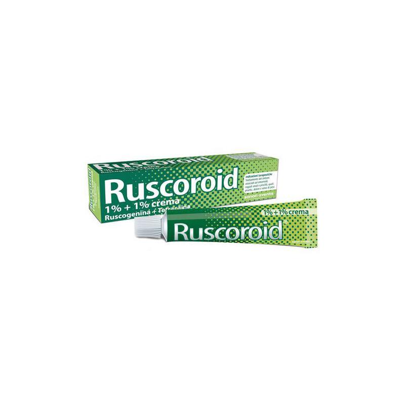RUSCOROID CREMA RETTALE 40 GRAMMI 1%+1%