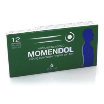 MOMENDOL 12CPR RIV 220MG