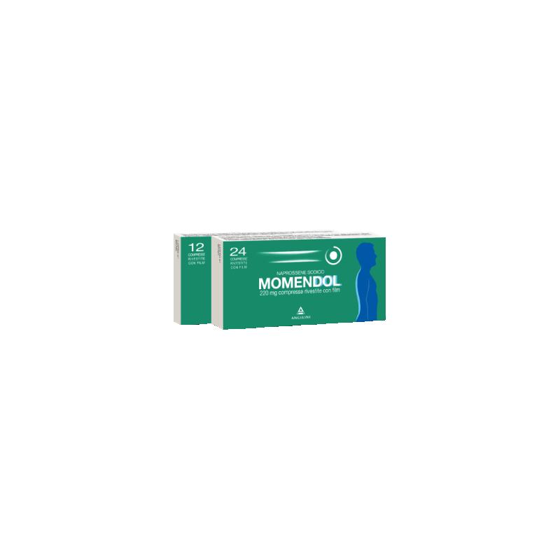 MOMENDOL 24CPR RIV 220MG