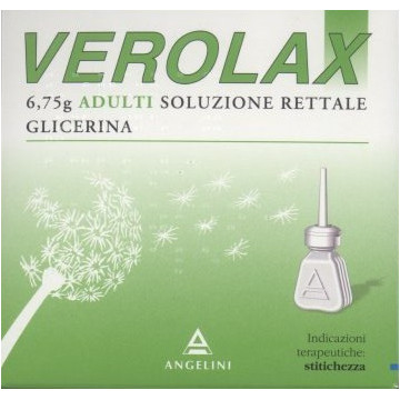 VEROLAX AD RETT 6CLISMI6,75G
