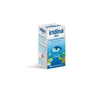 IRIDINA DUE NAFAZOLINA CLORIDRATO 0,5 MG/ML COLLIRIO 10 ML
