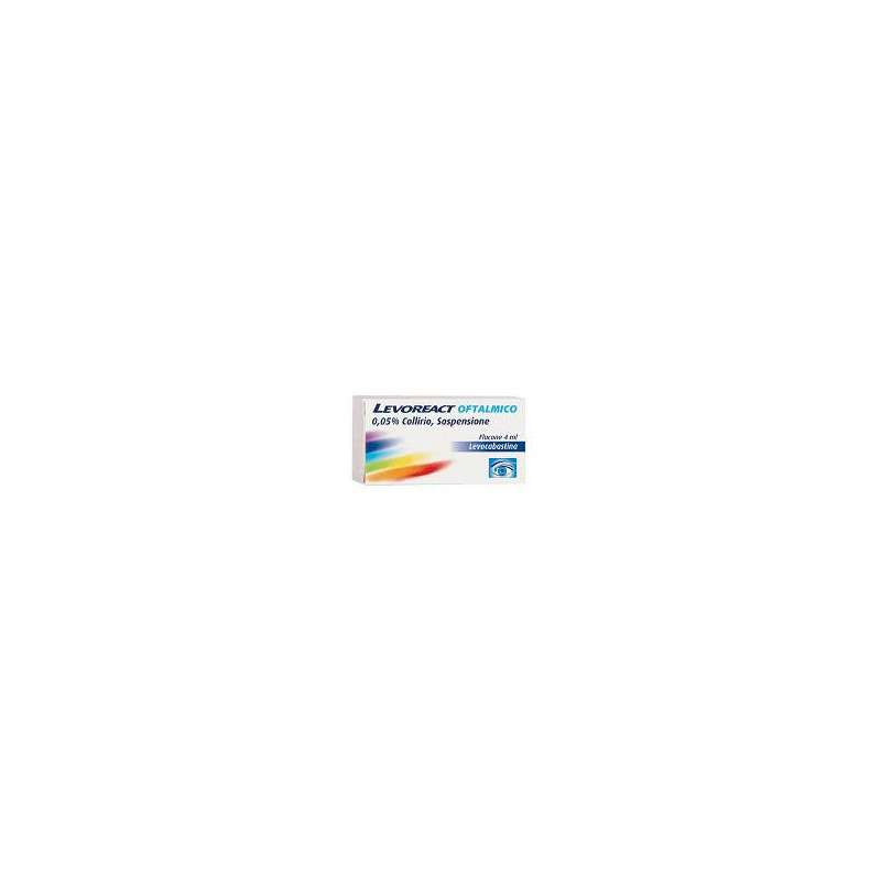 LEVOREACT OFTA COLL4ML0,5MG/