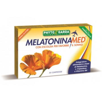 MELATONINAMED INTEGRATORE ALIMENTARE SONNO 30 COMPRESSE
