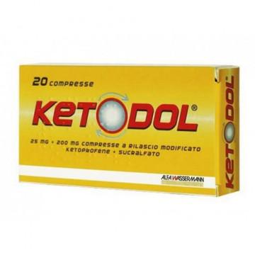 KETODOL 20CPR 25MG+200MG RM