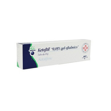 KETOFTIL OFT GEL 10G 0,5MG/G