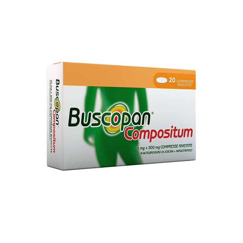 BUSCOPAN COMPOSITUM 20CPRRIV